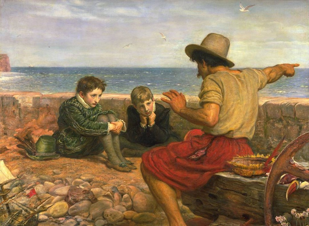 A fisherman tells Stories